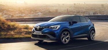 CLIO R.S. Line külső megjelenése, kék