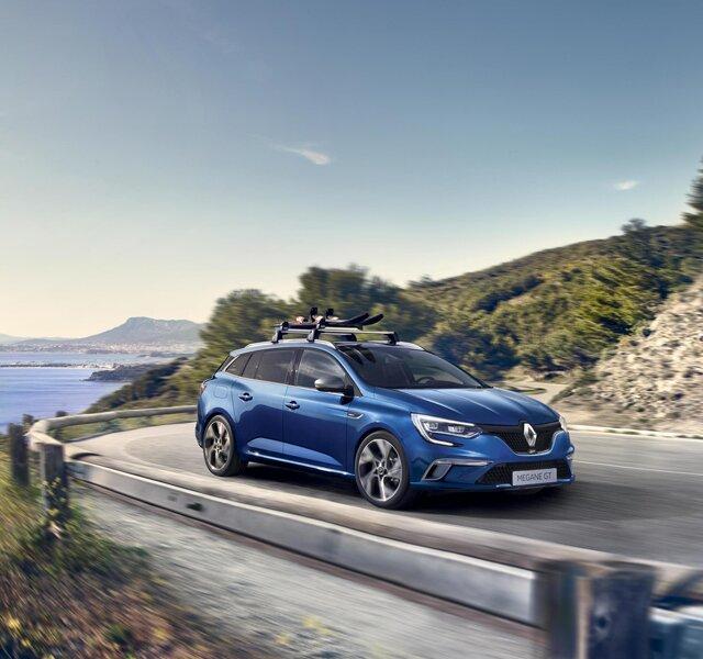 Renault MEGANE Grandtour - szürke