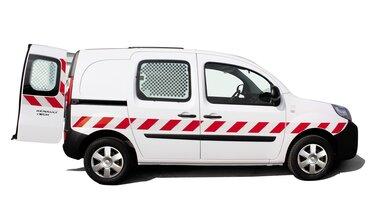 Renault KANGOO Z.E. Láthatósági címkézés
