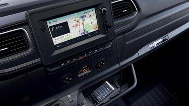 MASTER Z.E. - Navigációs képernyő