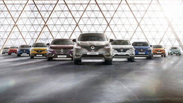 A Renault választék