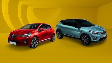 Most Új CLIO és Új CAPTUR modellek szerelt téli kerékszettel