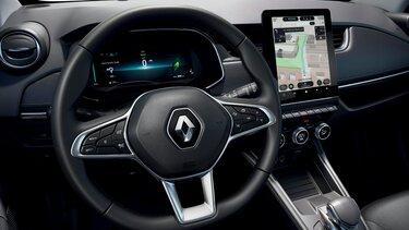 Renault ZOE kormány és vezetői kijelző