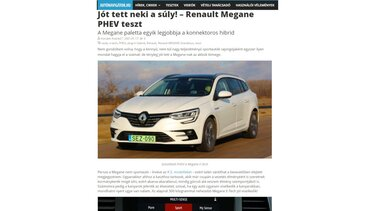 Speedzone teszt: Renault MEGANE R.S. Trophy R - Kincs, ami nincs