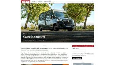 Renault MASTER – klasszikus mester