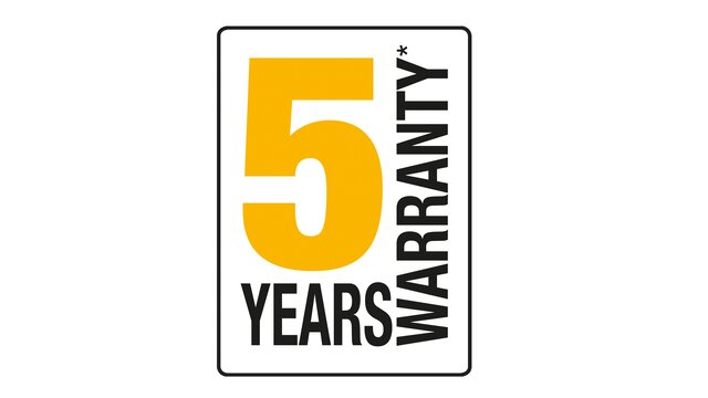 Renault 5-Year warranty