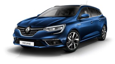 Renault MEGANE Sport Tourer in blue 3d