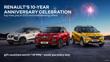 RENAULT'S 10TH ANNIVERSARY LUCKY DRAW