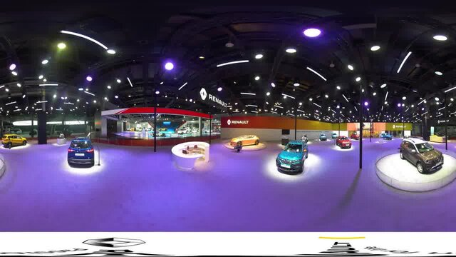 360° Virtual Walk-Through of Renault @ Auto Expo 2020