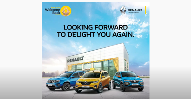 Renault welcome back