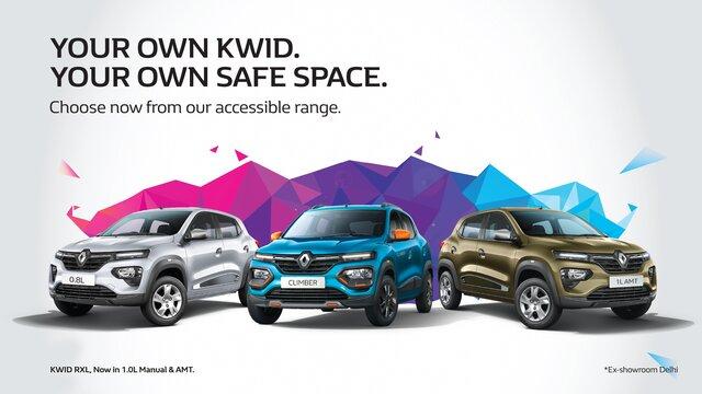 Renault KWID Range