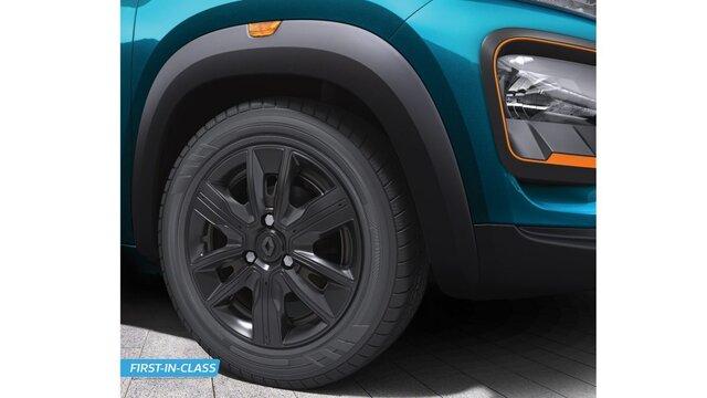 Volcano Gray muscular multi-spoke wheels