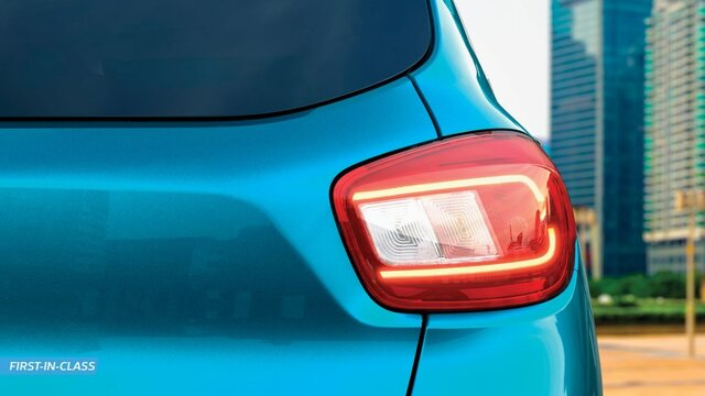 Tail lamps with LED light guides