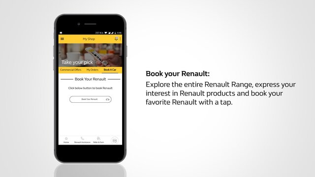 Book Your Renault