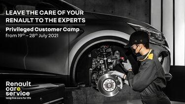 Renault Privileged Customer Camp