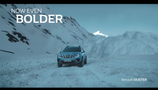 Renault DUSTER TVC