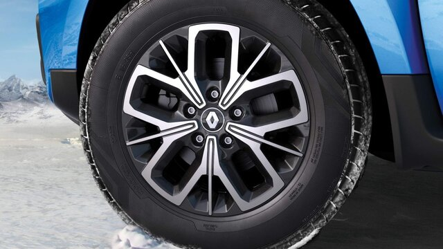 Everest Diamond Cut alloy wheels