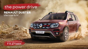 RENAULT DUSTER – MORE POWER IN EVERY DRIVE