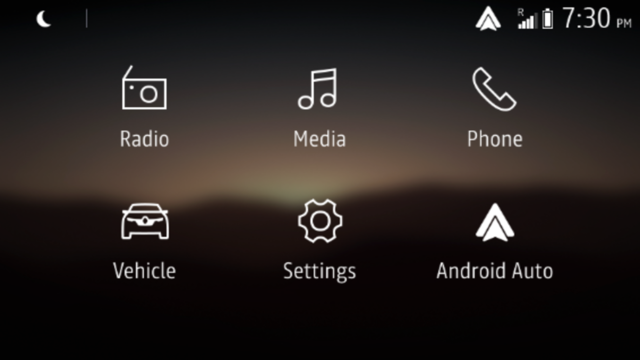 ANDROID AUTO™ FOR DISPLAY LINK*
