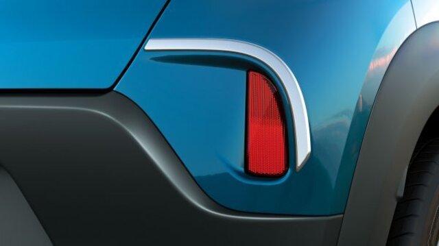 Rear Bumper Chrome Strip