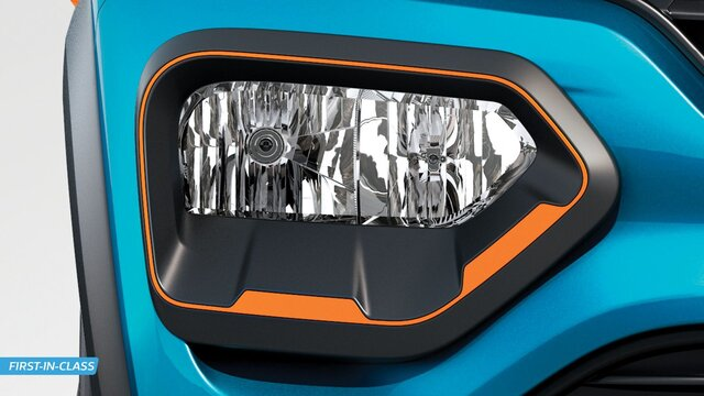 SUV-Styled Headlamps