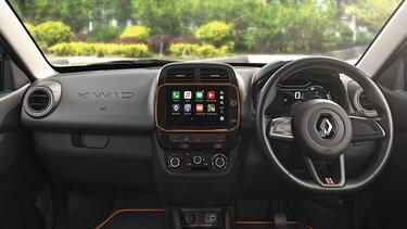 Interior Harmony with Steering Wheel