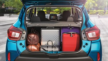 Boot Space of 279 Litres – Expandable up to 620 Litres