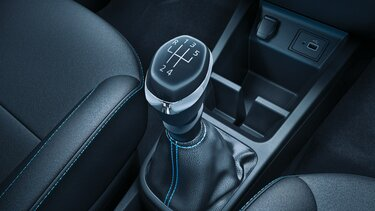 Stylised Gear Knob with Chrome Surround
