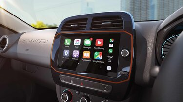 20.32 cm touchscreen mediaNAV with Apple CarPlay and Android Auto