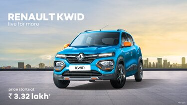 RENAULT KWID - LIVE FOR MORE