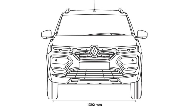 KWID front dimensions