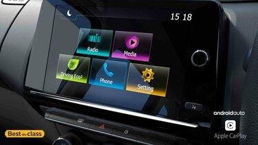 20.32 cm Touchscreen MediaNAV Evolution