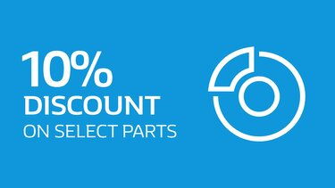 Discount on select parts