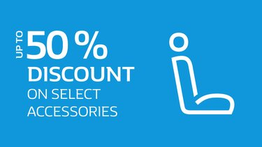 Discount on accessories