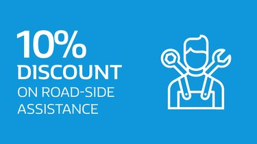 10% Discount on road-side assistance