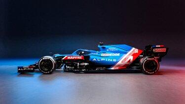 F1 Alpine motore E-Tech Renault