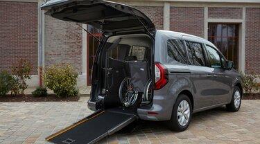 veicolo trasporto persone disabili, Renault Kangoo