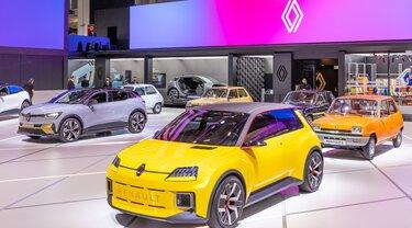 Renault 5 Prototype elettrica, salone auto Monaco