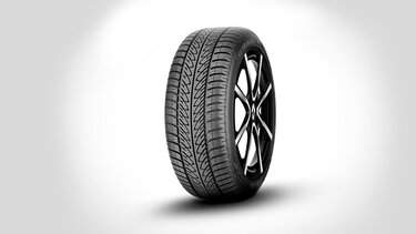 Kit completo ruote invenali pneumatici + cerchi in lega