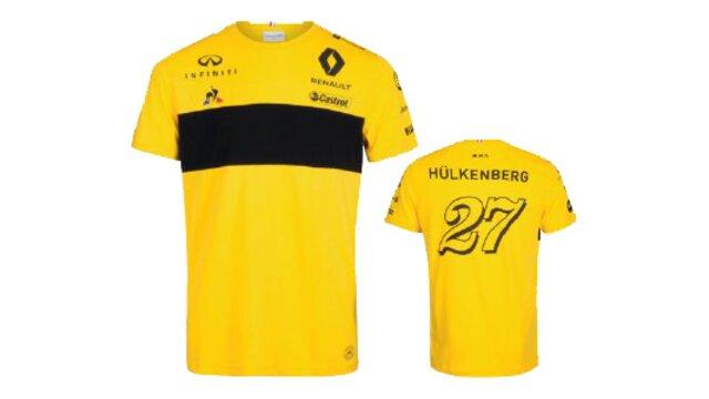 T-shirt Uomo Replica Nico Hülkenberg