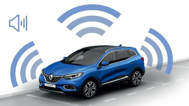 Renault KADJAR allarme