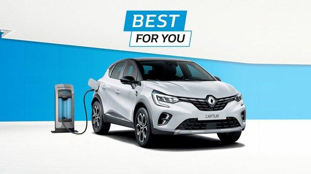 Nuova Renault CAPTUR Plug-In Hybrid