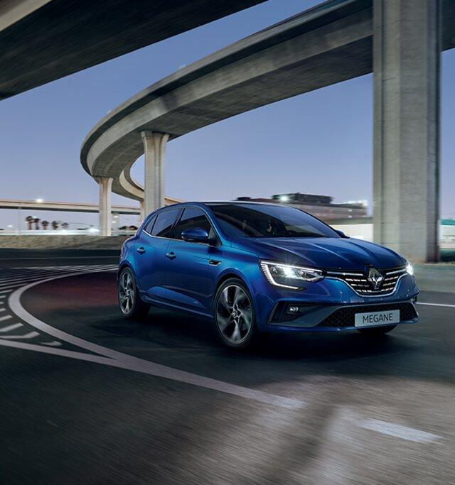 Renault MEGANE design esterno e interno