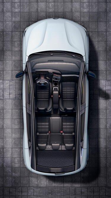 Nuova Renault Megane E-Tech 100% elettrica - interni