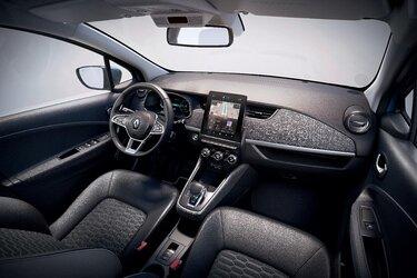 Renault ZOE interni, schermo, cruscotto