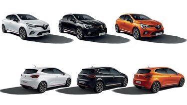 Renault CLIO citadine noir