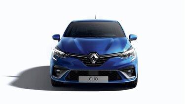 CLIO citadine extérieur bleu