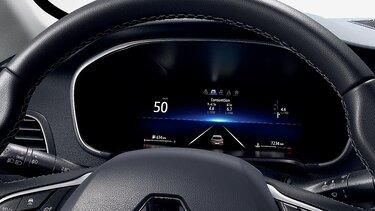 Écran conducteur personnalisable intérieur -  MEGANE