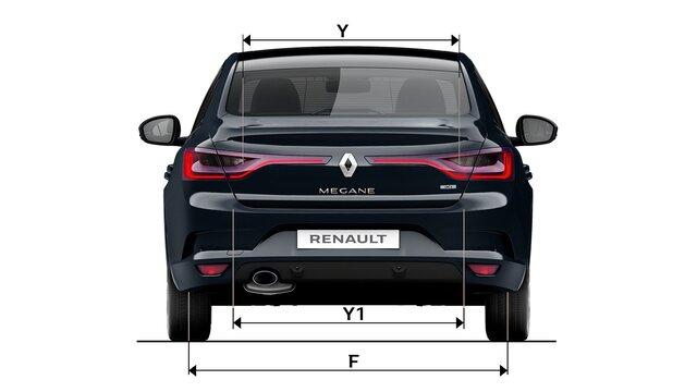 MEGANE Sedan dimensions dos