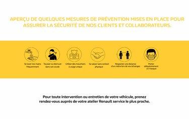 Mesures barrières dans le réseau Renault